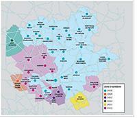 Plan de la Communauté de Communes